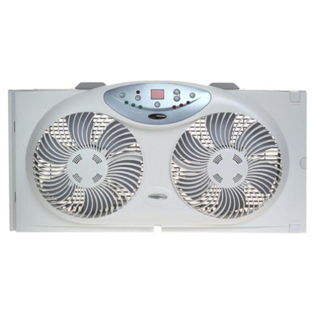Bionaire Twin Reversible Airflow Window Fan