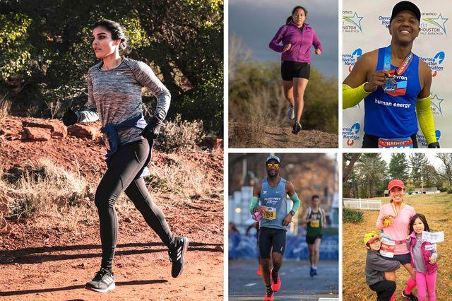 various bipoc runners