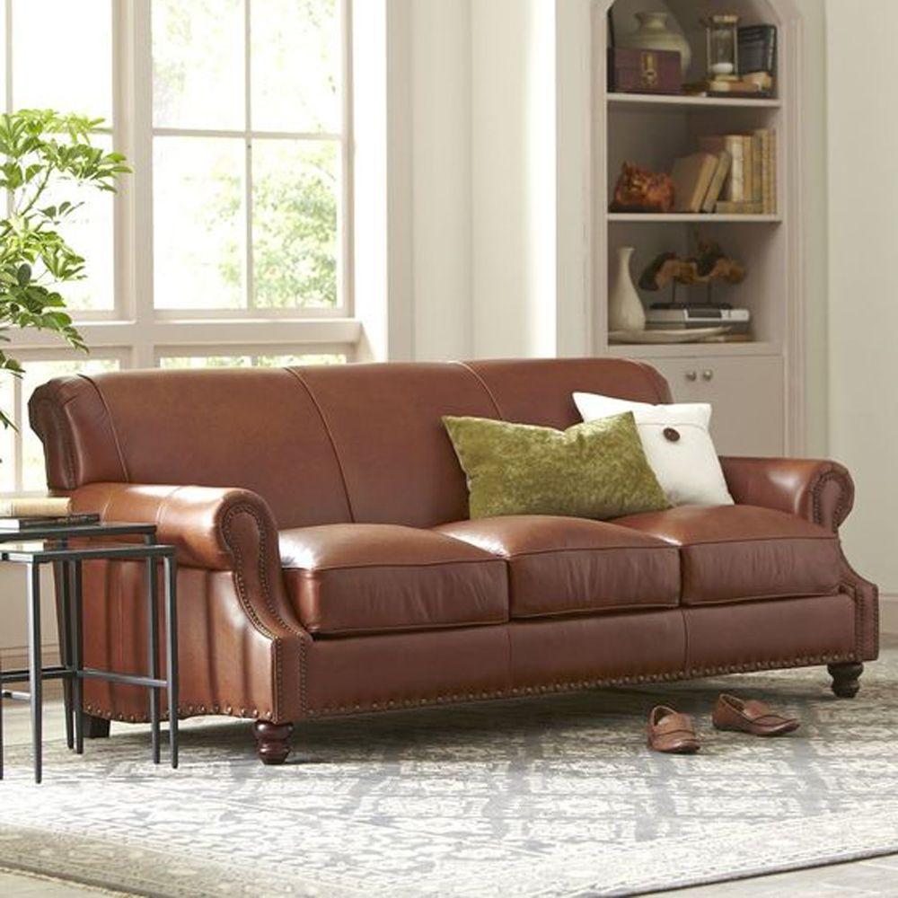 Birch Lane Landry Leather Sofa