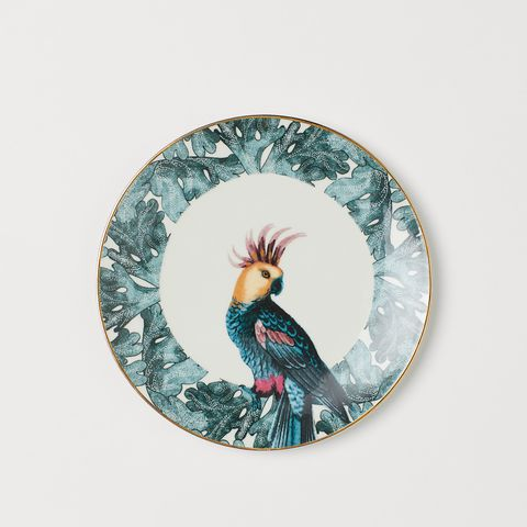 H&M Home bird plate
