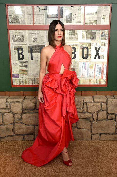 Sandra Bullock, Bird Box New York Screening