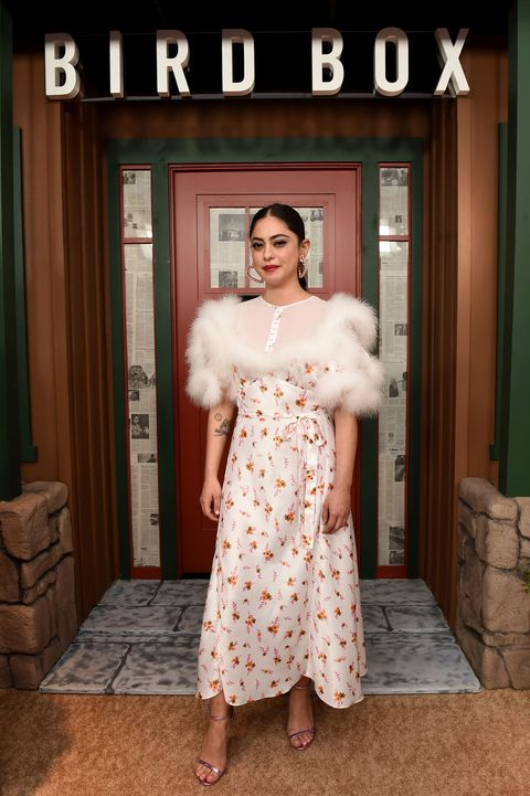 Rosa Salazar, Bird Box New York Screening