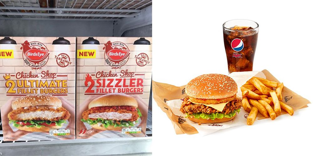 You Can Buy Chicken Burgers That Taste Just Like KFC In Supermarkets Right Now
