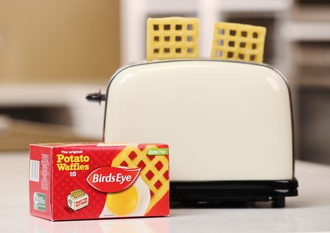 Birds Eye Has Revealed That You Can Cook Potato Waffles In The Toaster