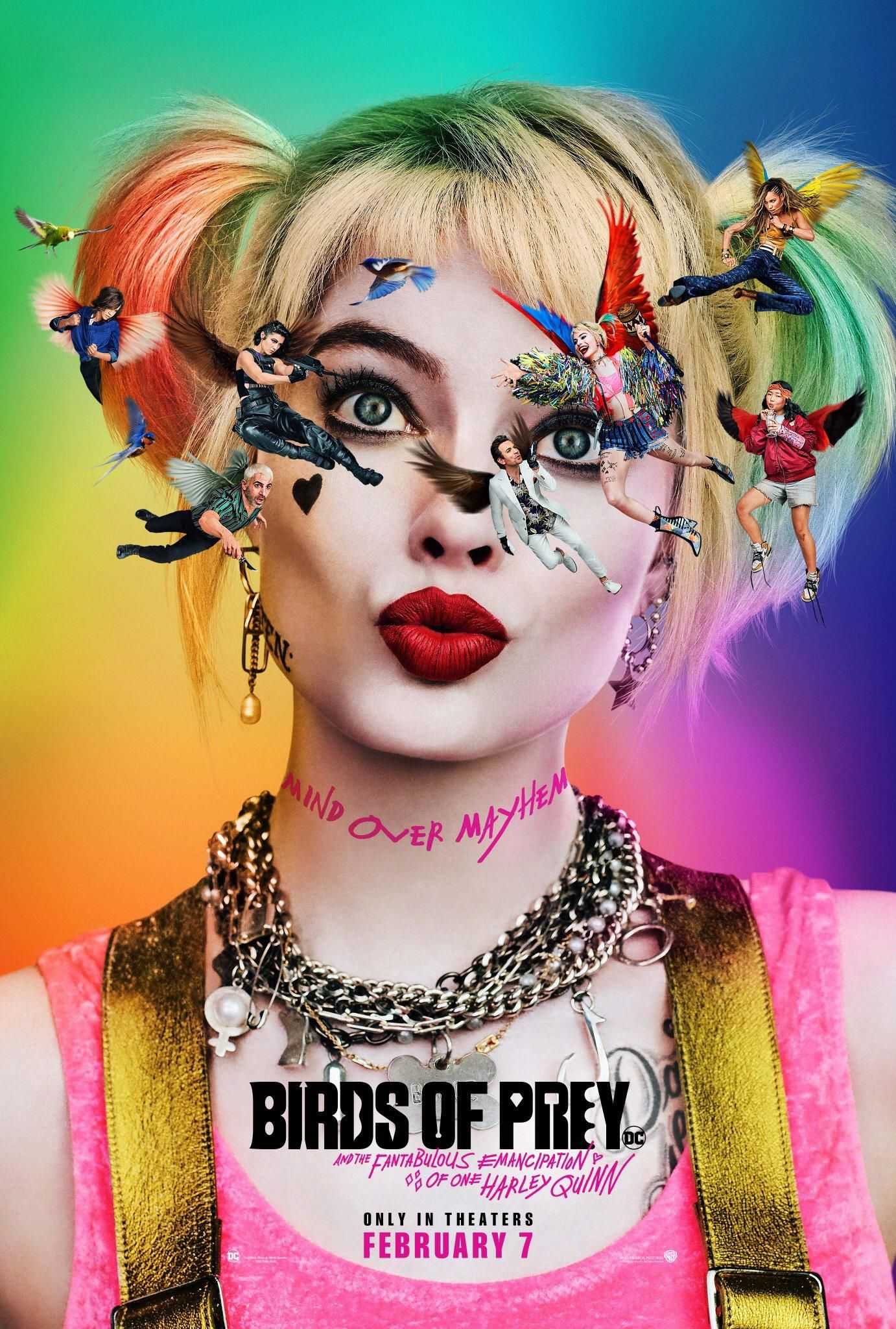 Harley Quinn movie Birds of Prey gets a very unique first poster
