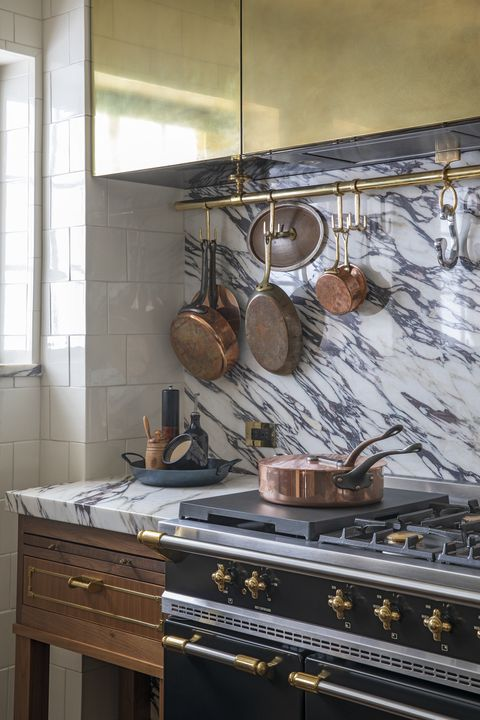 super organized  kitchen