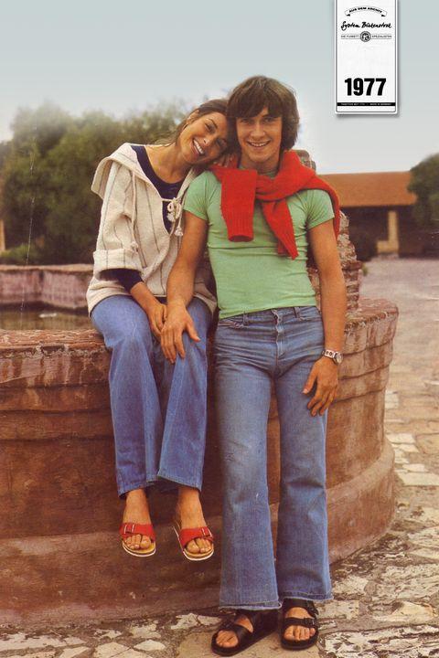 Jeans, Denim, Friendship, Fun, Textile, Adaptation, Photography, Smile,