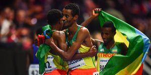 Kejelcha, Gebrhiwet, Barega, Farah, Etiopía, 10.000m, Doha