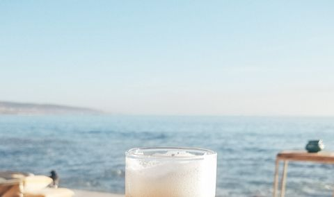 Sky, Drink, Sea, Summer, Ocean, Calm, Vacation, Frappé coffee, Horizon,