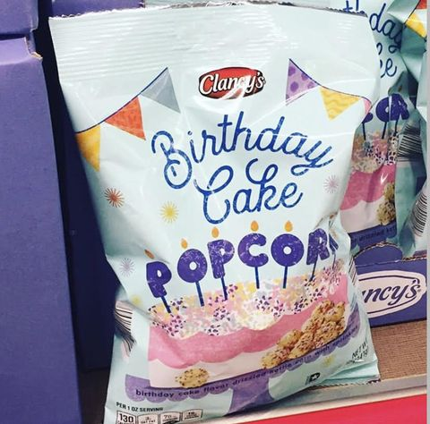 Miraculous Aldi Is Selling Birthday Cake Popcorn And People Say It Tastes Funny Birthday Cards Online Fluifree Goldxyz