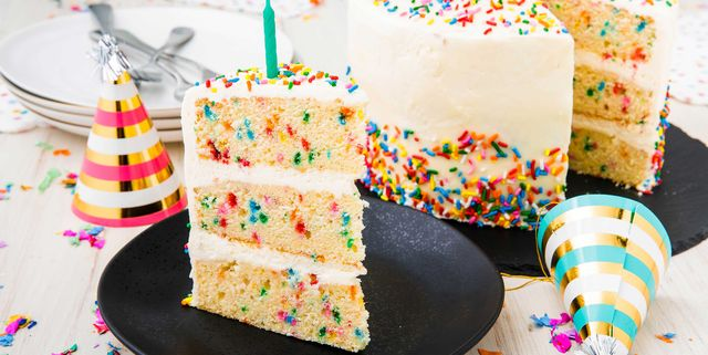 Phenomenal Best Funfetti Cake Recipe How To Make Homemade Funfetti Birthday Personalised Birthday Cards Paralily Jamesorg