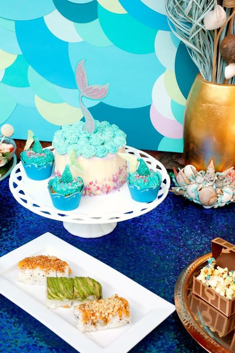 birthday party themes for girls under the sea