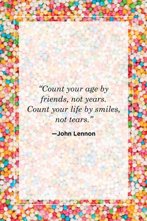John Lennon mom birthday quote