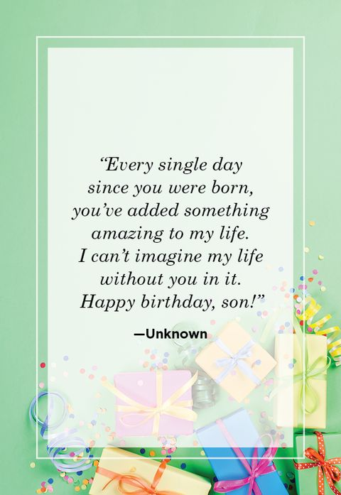 Birthday Quotes For Your Son Happy Birthday Son Quotes
