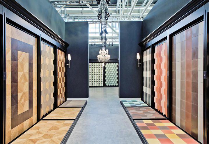Piastrelle Di Cemento Colorato : Dal mosaico al parquet alle piastrelle bisazza presenta le