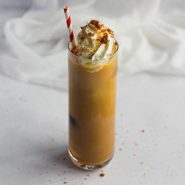 biscoff iced coffee