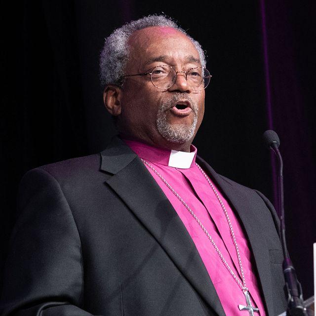 bishop michael curry donald trump bible episcopal church
