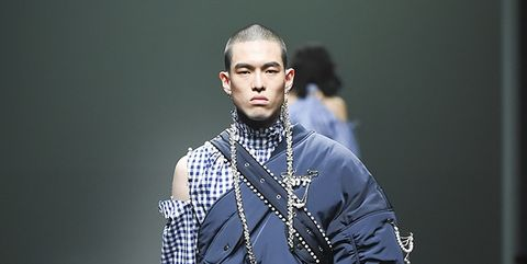 Fashion, Cheek, Human, Outerwear, Photography, Fashion design, Model, Fashion model, Neck, Music artist,