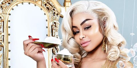 Image result for Blac Chyna is promoting her skin lightening cream