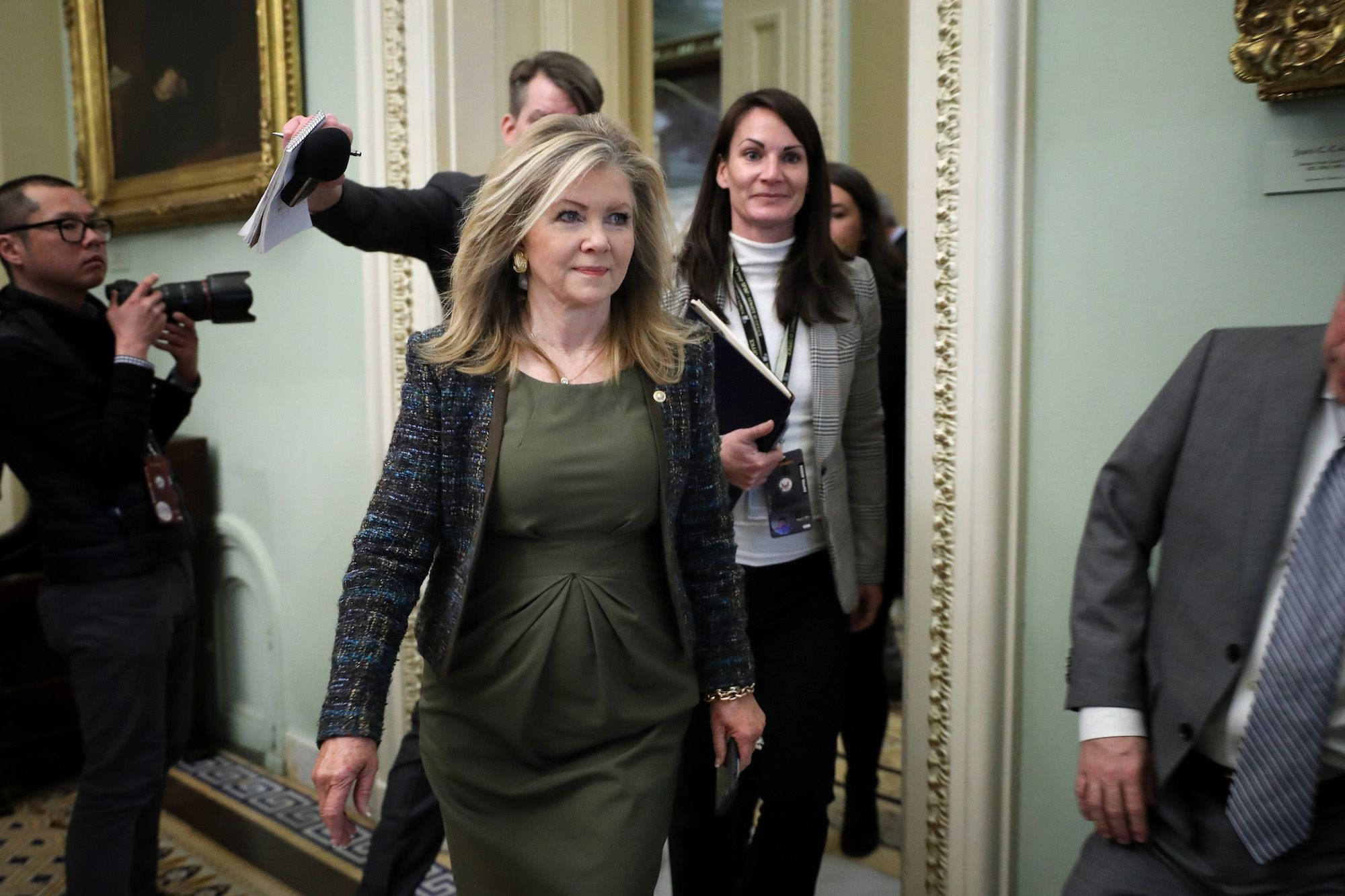 Marsha Blackburn Is a Steadfast Defender of Foreign Interference in American Elections