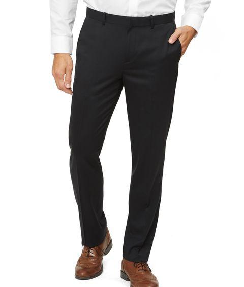 Clothing, Suit, Formal wear, Trousers, Tuxedo, Pocket, Suit trousers, Waist, Jeans, sweatpant,