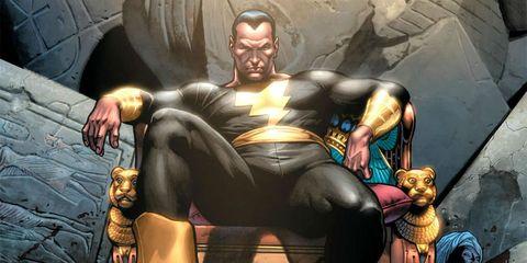 Black Adam trono