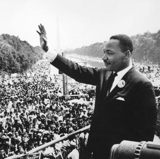 martin luther king tijdens zijn i have a dream speech