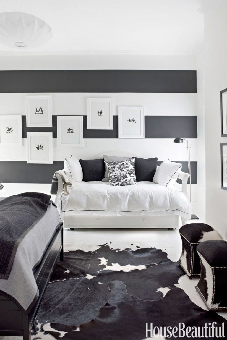 15 Beautiful Black and White Bedroom Ideas - Black and ...