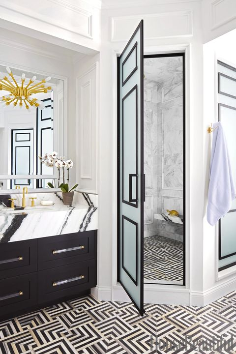 15 Black And White Bathroom Ideas Black White Tile Designs We Love