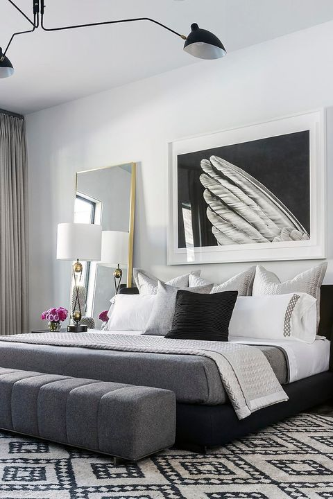 27 Striking Black And White Bedrooms Black And White Bedroom Decor