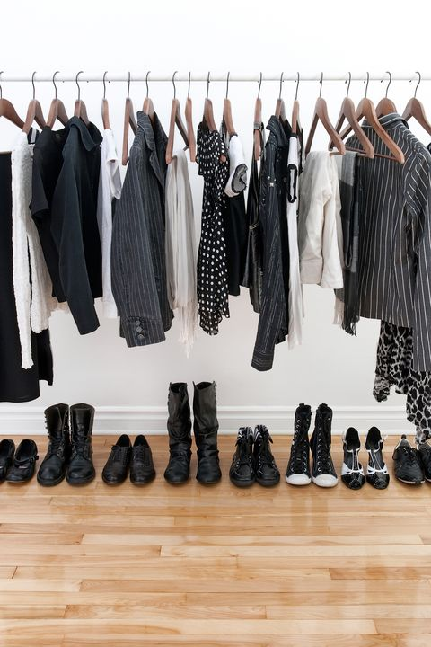 Room Organization Garment Rack