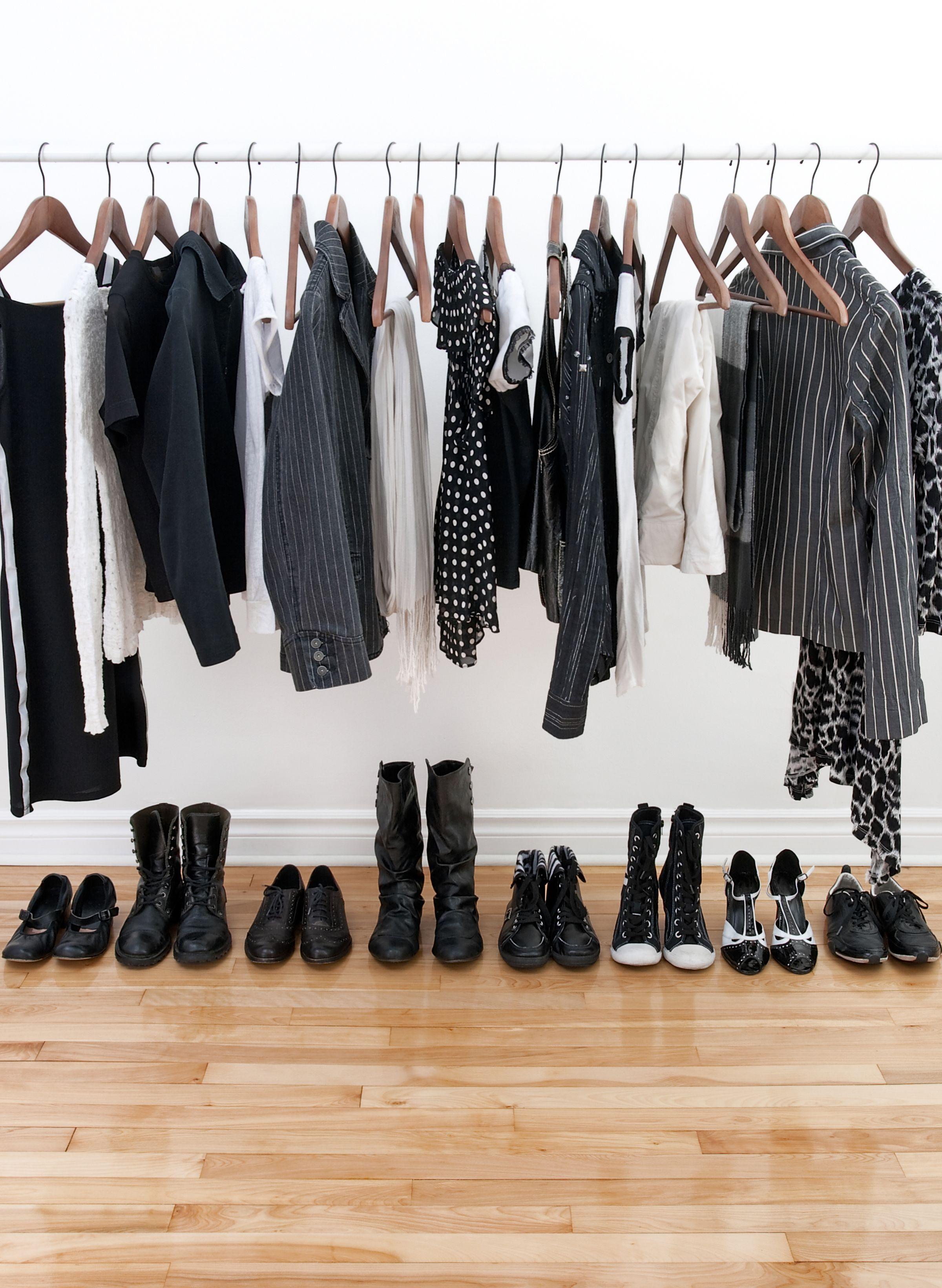Room Organization Garment Rack
