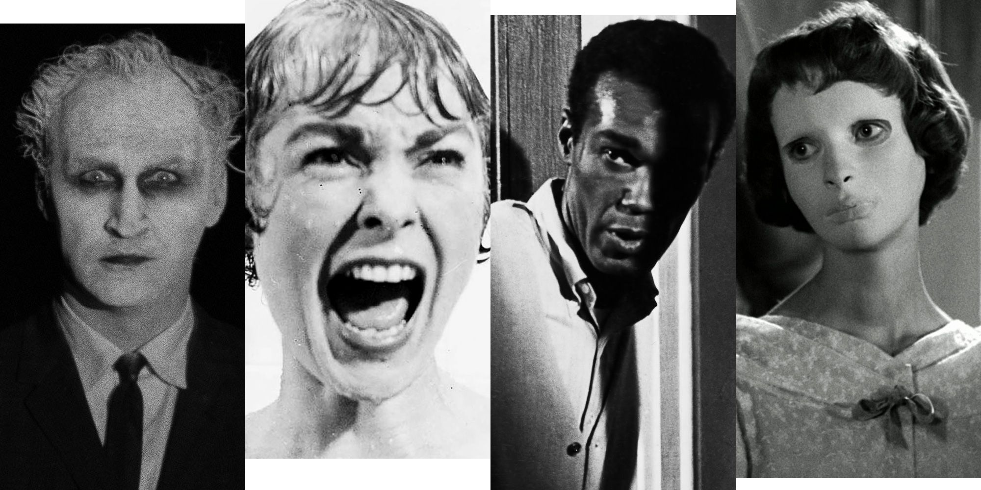 The 10 Best Black and White Horror Movies Ever Made
