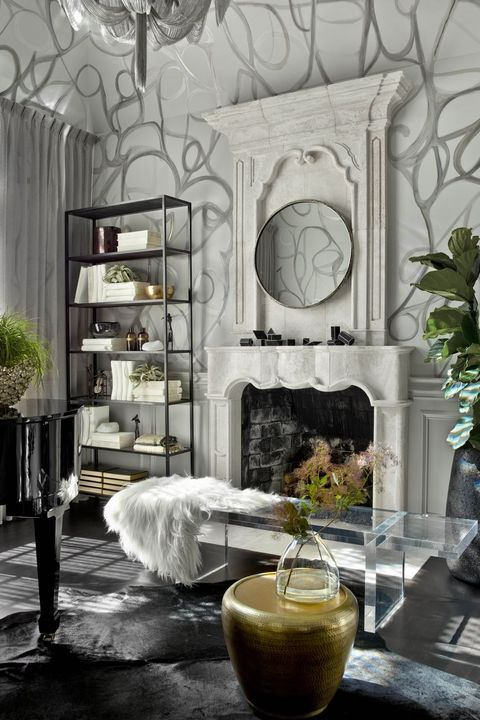 44 Striking Black & White Room Ideas - How to Use Black ...