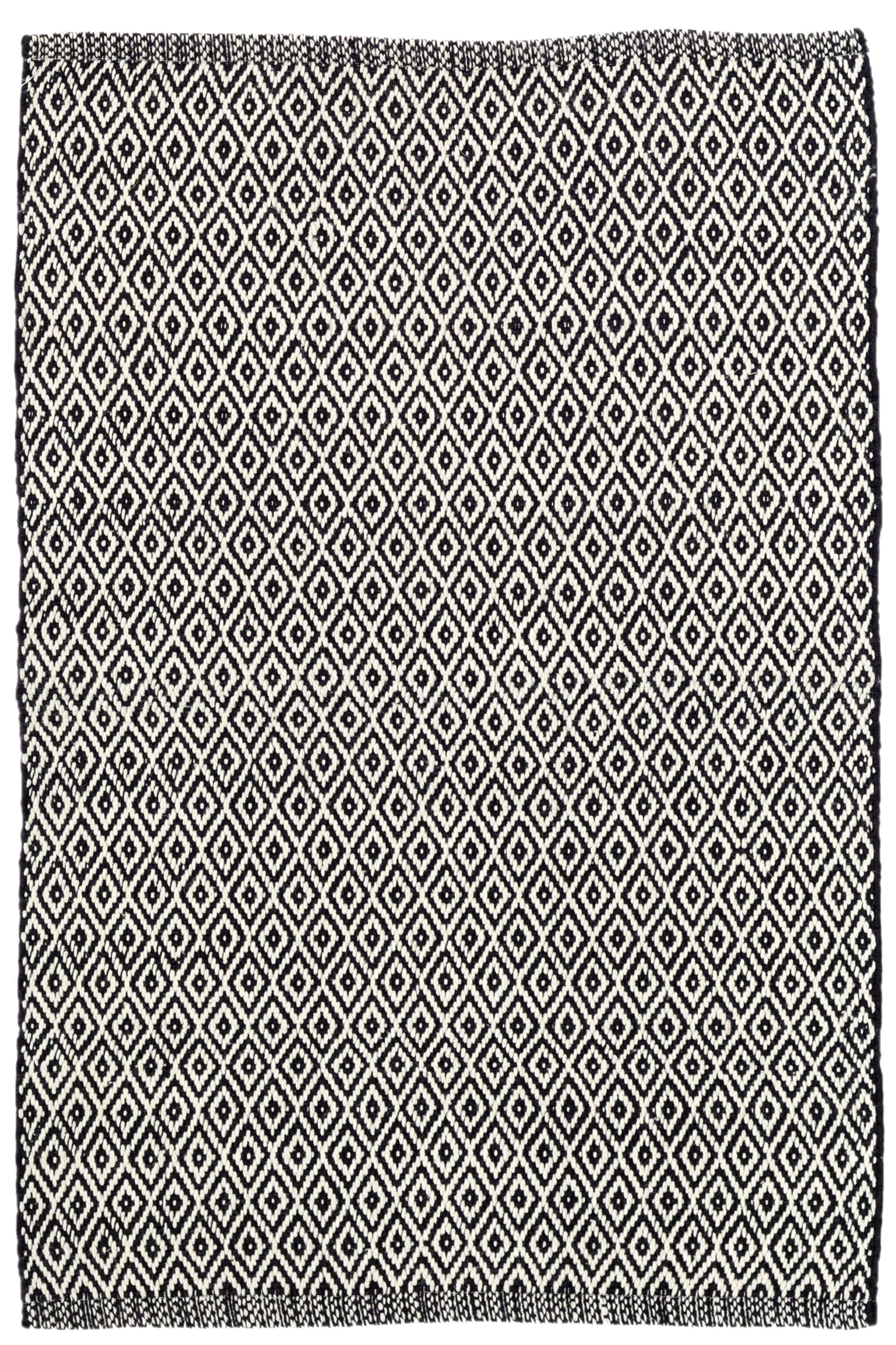 kolong wool share white htm design rugs cotton amp black honeycomb rug off