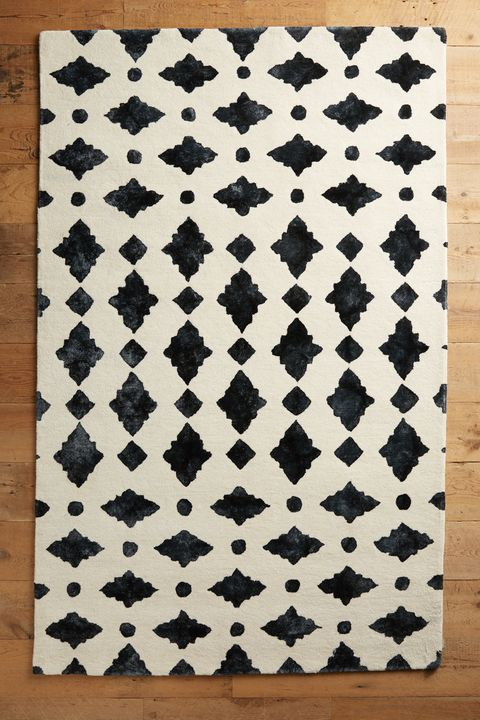 20 Best Black And White Area Rug Modern Black And White