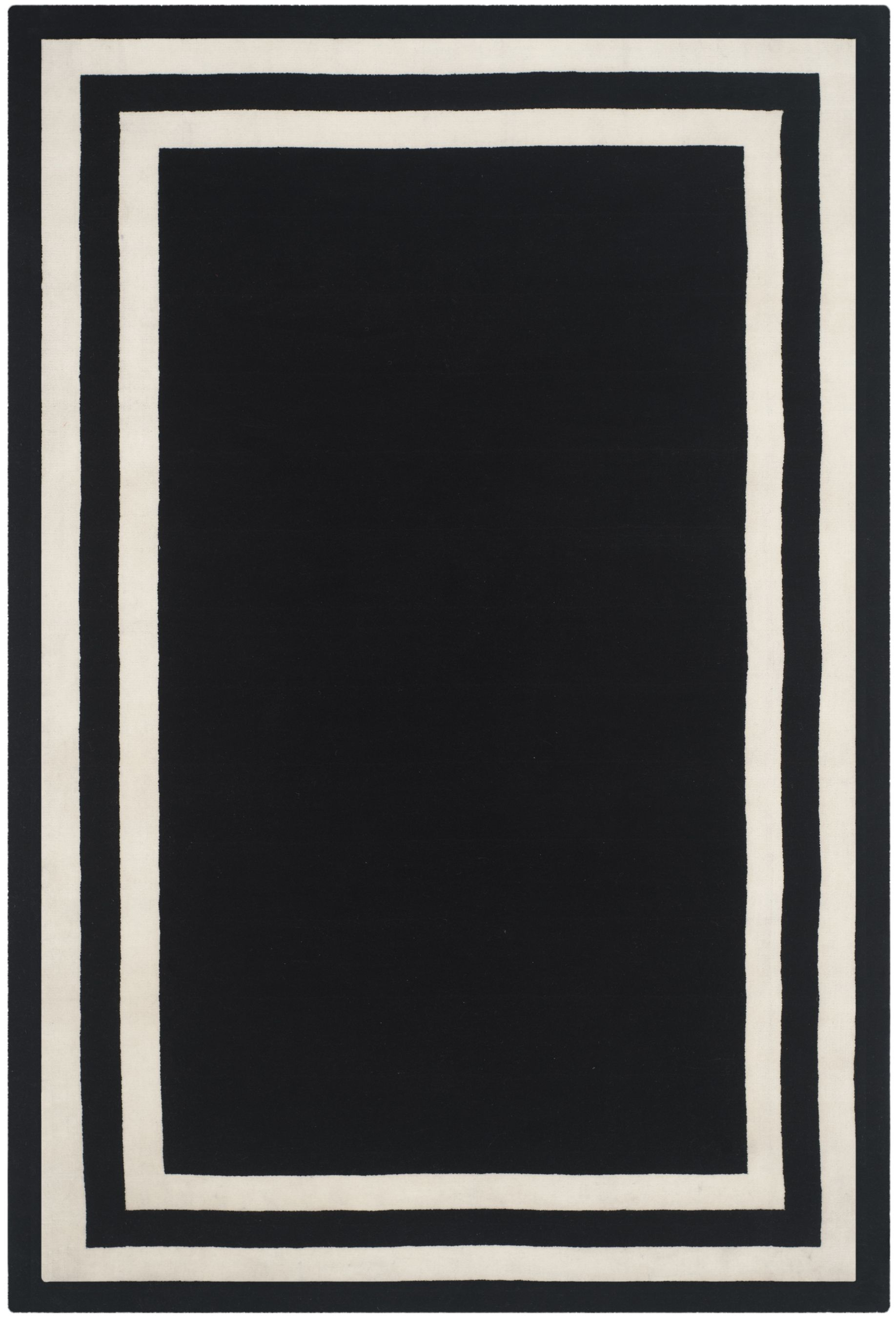 loom hooked cotton product rug rugs and eco black white copy oslo hook