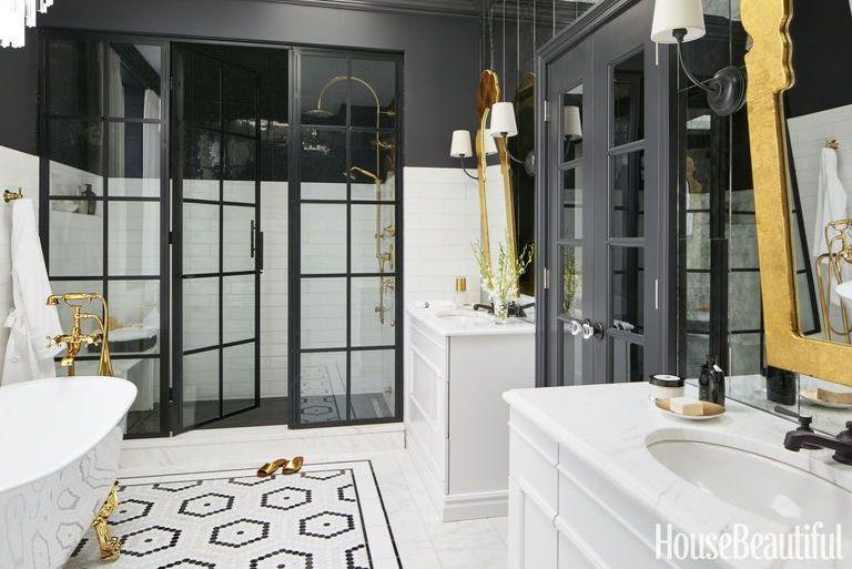 15 Black And White Bathroom Ideas