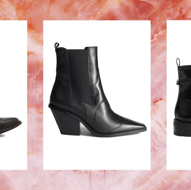bb8e46c13df 31 black ankle boots - best ankle boots from a Fashion Editor