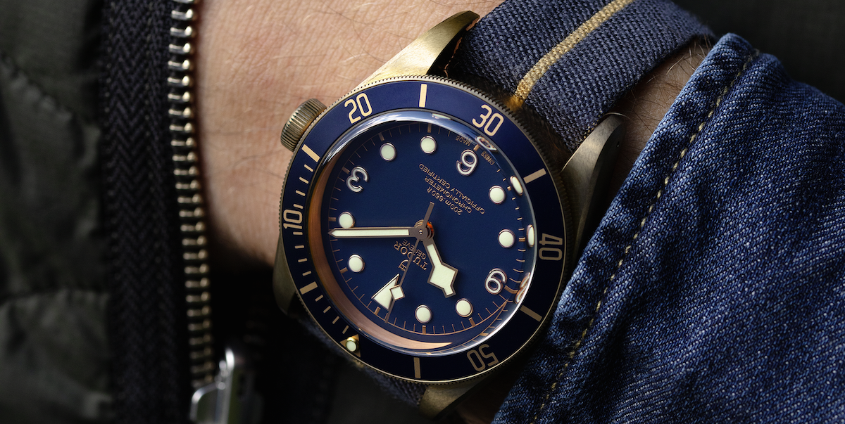 A Cool Tudor Special Edition Dive Watch Is Landing in the U.S.