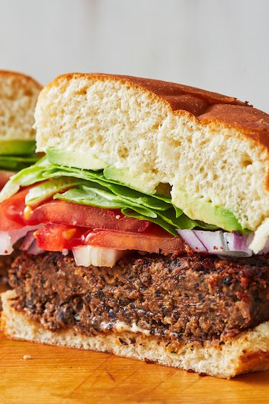 Black Bean Burger - Delish.com