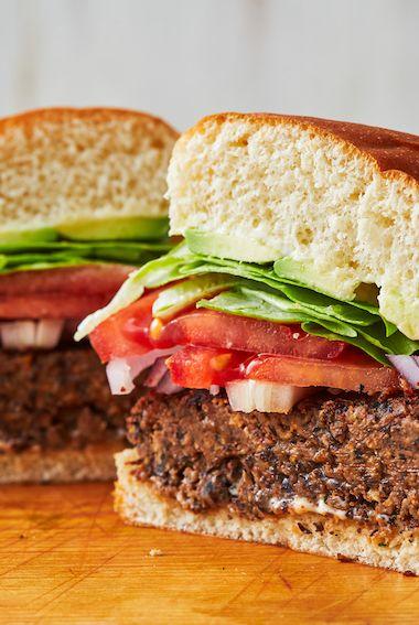 Black Bean Burger - Delish.com