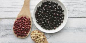 Black Bean, Red Bean, Soy Bean