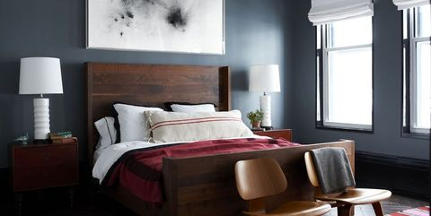 13 Gorgeous Dark Bedrooms - Bedrooms with Dark Color Palettes