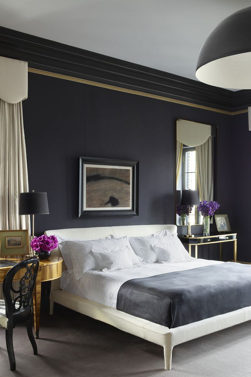 7 Gorgeous Dark Bedrooms - Bedrooms with Dark Color Palettes