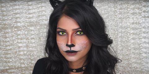 Best Cat Makeup Halloween Tutorial For 2019 Easy Cat