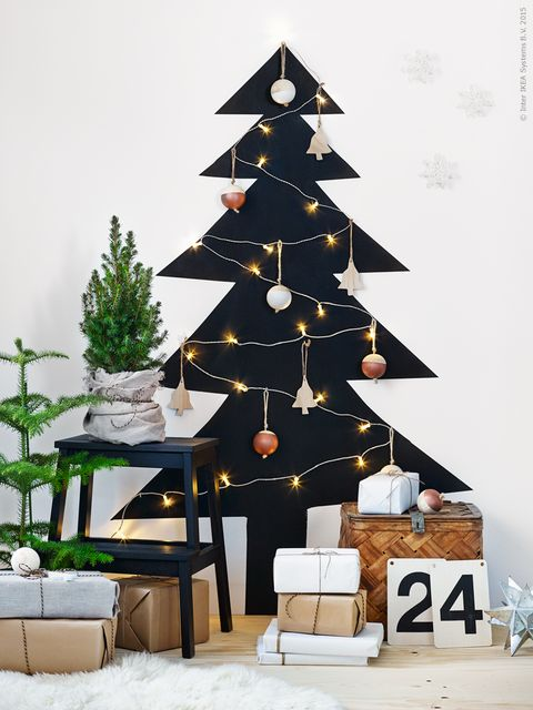 black christmas tree alternative - How To Decorate My Black Christmas Tree
