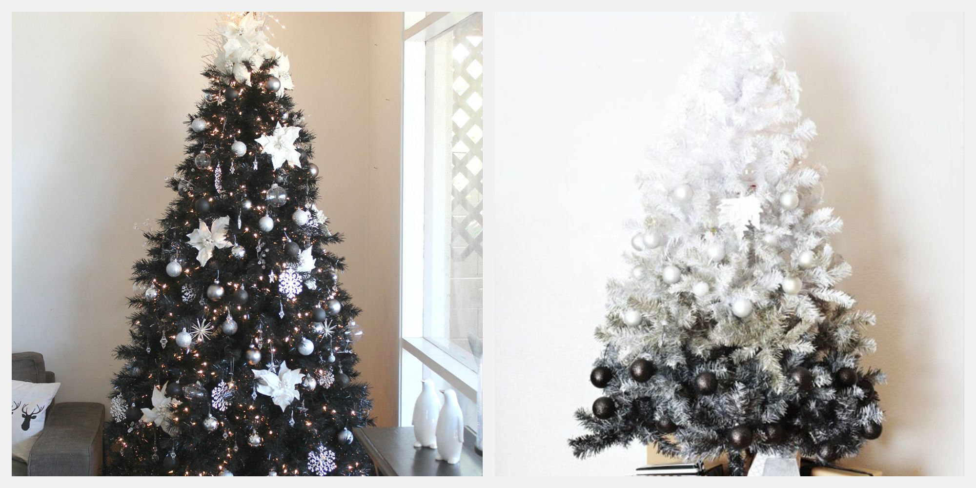 These Striking Black Christmas Trees Are Perfect for the NonConformist