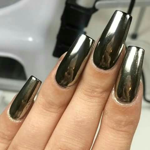 21 Chrome Nails From Mirror Nail Polish To Acrylic Nail
