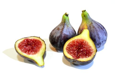 Black figs on white background